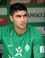 FUSSBALL   1. BUNDESLIGA   SAISON 2011/2012    1. SPIELTAG SV Werder Bremen - 1. FC Kaiserslautern             06.08.2011 Mehmet EKICI (SV Werder Bremen)