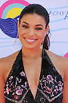 UNIVERSAL CITY, CA - JULY 22: Jordin Sparks arrives at the 2012 Teen Choice Awards at Gibson Amphitheatre on July 22, 2012 in Universal City, California.