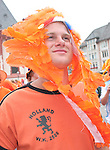 21 June 2006: A Holland fan. The Netherlands played Argentina at Commerzbank Arena in Frankfurt, Germany in match 37, a Group C first round game, of the 2006 FIFA World Cup.