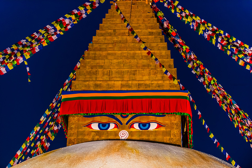 Nepal-Kathmandu-Boudhanath Stupa