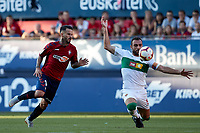 Gonzalo Verdú (defender; Elche CF) during the Spanish <br /> la League soccer match between CA Osasuna and Elche CF at Sadar stadium, in Pamplona, Spain, on Saturday, <br /> agost 26, 2018.