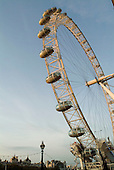 The London Eye, on the South Bank of the River Thames