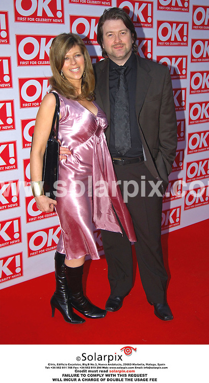 ALL-ROUND PICTURES FROM SOLARPIX.COM - 11.05.06.*MUST CREDIT SOLARPIX.COM OR DOUBLE USAGE FEE*.The Ok magazine party in London last night with a host of stars and glamoure models TV celebrities. .This pic:KATE GARAWAY.JOB REF: 2331 MSR