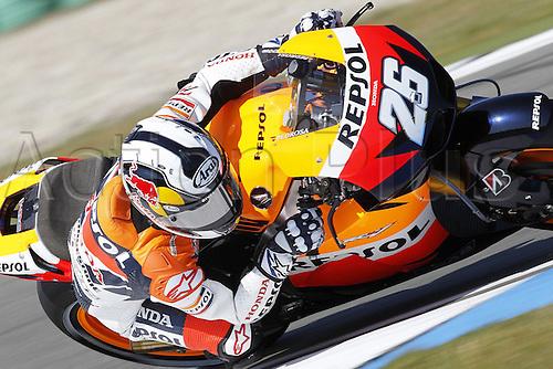 25 06 2010 MotoGP TIM TT Assen Free Practice 2 and Qualifying, Netherlands, June 25, 2010. Dani Pedrosa Repsol Honda