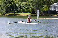 Race: 8  Event: Aspirational Lightweight 1x<br /> Crew: 152  Club: Oxford UW Lwt (B)<br /> <br /> Henley Women's Regatta 2018<br /> Friday<br /> <br /> To purchase this photo, or to see pricing information for Prints and Downloads, click the blue 'Add to Cart' button at the top-right of the page.