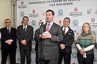 SAO PAULO, SP, 26 DE JUNHO 2012 – Prefeito Gilberto Kassab inaugura Centro Educacional Infantil (de 0 a 6 anos) na zona norte da capital da manhã desta terca-feria. (FOTO: THAIS RIBEIRO / BRAZIL PHOTO PRESS).