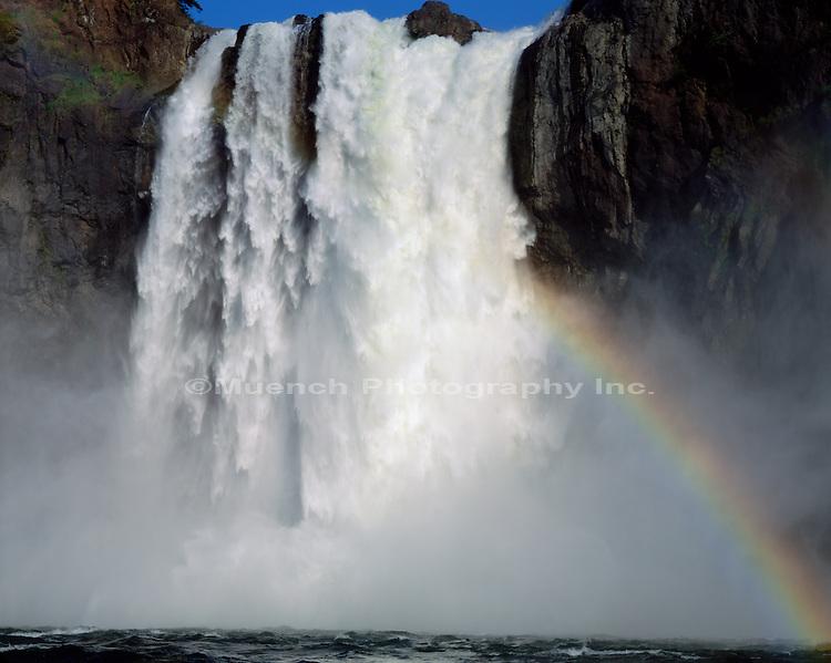 Snoqualmie Falls Rainbow   WASHINGTON