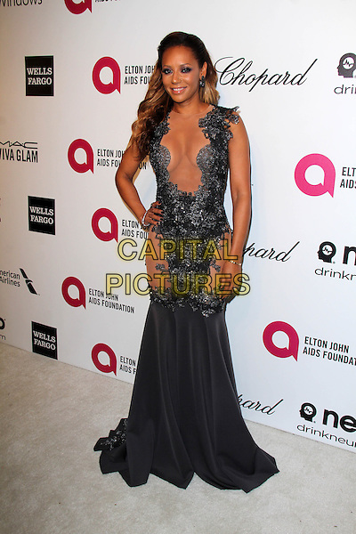 WEST HOLLYWOOD, CA - March 02: Melanie Brown at the 22nd Annual Elton John AIDS Foundation Oscar Viewing Party, Private Location, West Hollywood,  March 02, 2014. <br /> CAP/MPI/JO<br /> &copy;JO/MPI/Capital Pictures