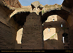Baths of Caracalla Apodyterium (dressing room) Vault Aventine Hill Rome