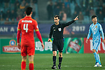 Fifa Referee Ravshan Irmatov of Uzbekistan (C) during the AFC Champions League 2017 Group H match between Jiangsu FC (CHN) vs Adelaide United (AUS) at the Nanjing Olympics Sports Center on 01 March 2017 in Nanjing, China. Photo by Marcio Rodrigo Machado / Power Sport Images