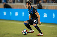 STANFORD, CA - JUNE 29: Vako #11 during a Major League Soccer (MLS) match between the San Jose Earthquakes and the LA Galaxy on June 29, 2019 at Stanford Stadium in Stanford, California.