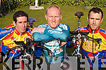 Race: Competing in the Ras Mumhan Cycle Race in Killorglin on Saturday were, l-r: Cian Hogan, Eugene Moriarty and Niall Brosnan, Tralee..