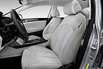 Front seat view of 2017 Hyundai Sonata-Hybrid Hybrid 4 Door Sedan Front Seat  car photos