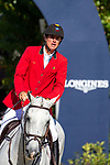 Winners. Team Belgium. Jos Verloy. BEL. Riding Caracas. Final Competition Round   Longines FEI Jumping Nations Cup Final. Showjumping. Barcelona. Spain. Day 3. 07/10/2018. ~ MANDATORY Credit Elli Birch/Sportinpictures - NO UNAUTHORISED USE - 07837 394578