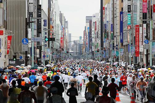 in GinÇöa, .FEBRUARY 28, 2010 - Marathon : .Tokyo Marathon 2010 .in Tokyo, Japan. .Photo : YUTAKA/Actionplus. Editorial Use UK.