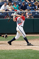 July 6, 2008: The Everett AquaSox's Dennis Raben at-bat during a Northwest League game against the Yakima Bears at Everett Memorial Stadium in Everett, Washington.