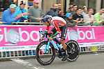 Nelson Oliveira (POR) in action during the Men Elite Individual Time Trial of the UCI World Championships 2019 running 54km from Northallerton to Harrogate, England. 25th September 2019.<br /> Picture: Seamus Yore | Cyclefile<br /> <br /> All photos usage must carry mandatory copyright credit (© Cyclefile | Seamus Yore)