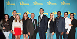 "The cast and creative team of ""The Performers"", from left, producer Amanda Lipitz, playwright David West Read, actress Jenni Barber, actress Alicia Silverstone, actor Henry Winkler, actor Cheyenne Jackson, actress Ari Graynor, actor Daniel Breaker, director Evan Cabney and producer Robyn Goodman attends press event to introduce the cast and creators of the new Broadway play ""The Performers""at the Hard Rock Cafe on Tuesday, Sept. 25, 2012 in New York."
