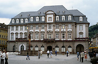 Heidelberg: Rathaus or Town Hall. Built in 1701-1703 but has had restoration periodically. Baroque style. Photo '87.