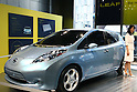 May 14, 2010 - Tokyo, Japan - A Nissan Leaf is displayed at the company's showroom in the Ginza district of Tokyo, Japan, on May 14, 2010. Nissan Chief Executive Carlos Ghosn said Thursday the automaker has received 13,000 orders in the U.S. and Japan for its new electric car, exceeding production capacity. Leaf sales will start in Japan in December.