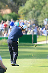 Paul Lawrie (SCO) plays his 2nd shot from the 17th fairway during the Final Day Sunday of the Open de Andalucia de Golf at Parador Golf Club Malaga 27th March 2011. (Photo Eoin Clarke/Golffile 2011)