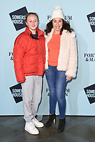 Samantha Spiro<br /> arriving for the Skate at Somerset House 2017 opening, London<br /> <br /> <br /> ©Ash Knotek  D3351  14/11/2017