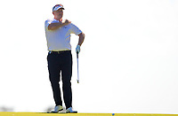 Marcus Fraser (AUS) in action on the 18th during Round 2 of the ISPS Handa World Super 6 Perth at Lake Karrinyup Country Club on the Friday 9th February 2018.<br /> Picture:  Thos Caffrey / www.golffile.ie<br /> <br /> All photo usage must carry mandatory copyright credit (&copy; Golffile | Thos Caffrey)