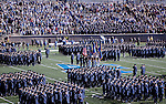 03 November  2007:  Air Force Cadet Wing parade prior to the Falcon's 30-10 victory over Army at Falcon Stadium, Air Force Academy, Colorado Springs, Colorado.