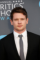 Jack O'Connell attends the 23rd Annual Critics' Choice Awards at Barker Hangar in Santa Monica, Los Angeles, USA, on 11 January 2018. Photo: Hubert Boesl - NO WIRE SERVICE - Photo: Hubert Boesl/dpa /MediaPunch ***FOR USA ONLY***