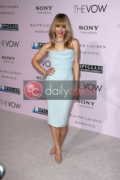 """Rachel McAdams<br /> at """"The Vow"""" World Premiere, Chinese Theater, Hollywood, CA 02-06-12<br /> David Edwards/DailyCeleb.com 818-249-4998"""