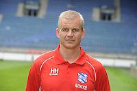 VOETBAL: HEERENVEEN: Abe Lenstra Stadion, 01-07-2013, Fotopersdag SC Heerenveen, Eredivisie seizoen 2013/2014, Henk Herder assistent trainer, © Martin de Jong
