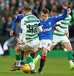 29.12.2019 Celtic v Rangers: Ryan Jack and Callum McGregor