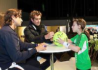 2011-02-07, Tennis, Rotterdam, ABNAMROWTT, JHandtekeningen met Gasquet