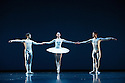 Edinburgh, UK. 15.08.2013. Scottish Ballet presents SILHOUETTE, choreographed by Christopher Hampson, in a double bill with  Sea of Troubles, by Kenneth MacMillan, as part of the Edinburgh International Festival. Photograph © Jane Hobson.