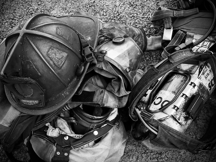 Fire fighter's tools of the trade.<br /> PHOTOS/John Nelson