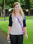 Festival Queen Aoife Rogers at the Turfman festival in Ardee. Photo: Colin Bell/pressphotos.ie