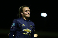 Kirsty Smith of Manchester Utd during Arsenal Women vs Manchester United Women, FA WSL Continental Tyres Cup Football at Meadow Park on 7th February 2019