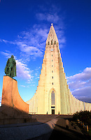 Hallgrims Church, Tallest Building in Iceland.  Reykjavik