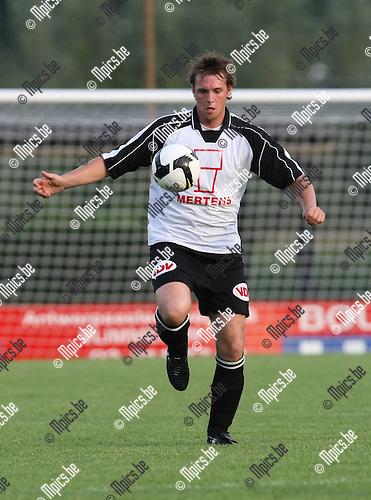 2008-08-06 / Voetbal / seizoen 2008 - 2009 / Vlimmeren Sport / Kevin Dufraing..Foto: Maarten Straetemans (SMB)