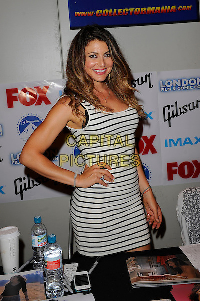LONDON, ENGLAND - JULY 12: Cerina Vincent attending London Film and Comic Con 2014 at Earls Court on July 12, 2014 in London, England.<br /> CAP/MAR<br /> &copy; Martin Harris/Capital Pictures