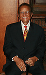 Honoree and WBLS'Legendary Hal Jackson attends the HISTORIC CELEBRATIONS GALA AND DANCE, a benefit saluting the anniversaries of HARLEM WEEK, New York City Marathon and WBLS-FM at the Great Hall of The City College of New York at 138th Street on Convent Avenue, New York