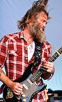Stanton Moore Trio with Anders Osborne and Robert Walter playing at Voodoo Festival 2010 in New Orleans on Day 1.