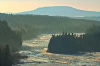 The Kaministiquia River at Kakabeka Falls<br />Kakabeka Falls Provincial Park<br />Ontario<br />Canada