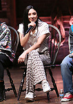 "Lauren Boyd during the Q & A before The Rockefeller Foundation and The Gilder Lehrman Institute of American History sponsored High School student #eduHAM matinee performance of ""Hamilton"" at the Richard Rodgers Theatre on 3/12/2020 in New York City."