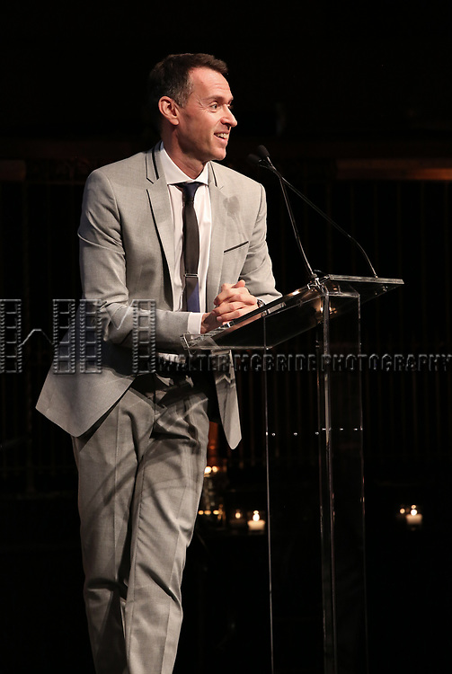 Andrew Lippa on stage at the  2017 Dramatists Guild Foundation Gala presentation at Gotham Hall on November 6, 2017 in New York City.