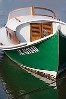 Europe/France/Aquitaine/33/Gironde/Bassin d'Arcachon/La Teste de Buch: Port de La Teste -Port ostréicole- Pinasse bateau traditionnel du bassin
