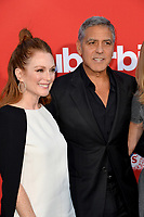 Julianne Moore &amp; George Clooney at the premiere for &quot;Suburbicon&quot; at the Regency Village Theatre, Westwood. Los Angeles, USA 22 October  2017<br /> Picture: Paul Smith/Featureflash/SilverHub 0208 004 5359 sales@silverhubmedia.com