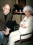 Charles strouse & Celeste Holm.attending the closing night after party for APPLAUSE at NY City Center Encores!.New York City,.February 10, 2008.