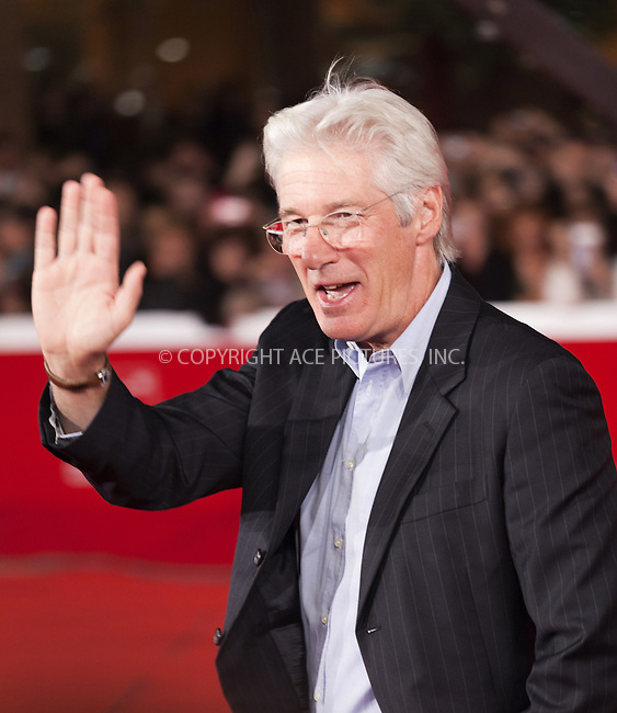 WWW.ACEPIXS.COM . . . . .  ..... . . . . US SALES ONLY . . . . .....November 3 2011, Rome....Richard Gere at the screening of 'Days Of Heaven' at the Rome International Film Festival on November 3 2011 in Italy ....Please byline: FAMOUS-ACE PICTURES... . . . .  ....Ace Pictures, Inc:  ..Tel: (212) 243-8787..e-mail: info@acepixs.com..web: http://www.acepixs.com