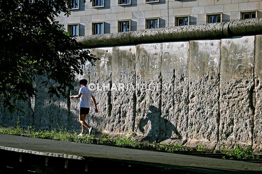 Pedaço do muro de Berlim. Alemanha. 2007. Foto de Marcio Nel Cimatti.